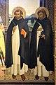 Angelico, pala di fiesole, con sfondo di lorenzo di credi, 06.JPG