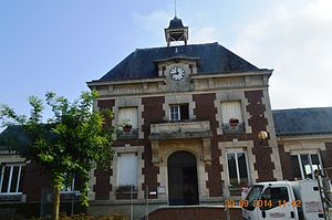 Anguilcourt-le-Sart - Anguilcourt-le-Sart Town Hall