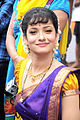 Ankita Lokhande on the sets of Pavitra Rishta.jpg