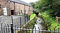Annandale Distillery, Annan, Dumfries & Galloway. Whisky bond and burn that once powered the mill.jpg