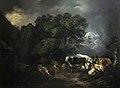 Anne Margaret Coke, Animals Sheltering in a Storm, Shugborough Hall, National Trust.jpg