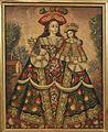 Anonymous, Cuzco School, Peru - The Virgin of the Pilgrims and Child - Google Art Project.jpg