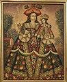Anonymous, Cuzco School, Peru - The Virgin of the Pilgrims and Child - Google Art Project.jpg