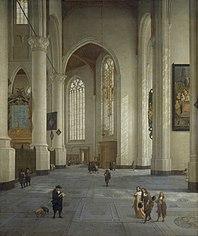 Interior of the St Laurenskerk, Rotterdam