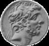 Antiochus IX face