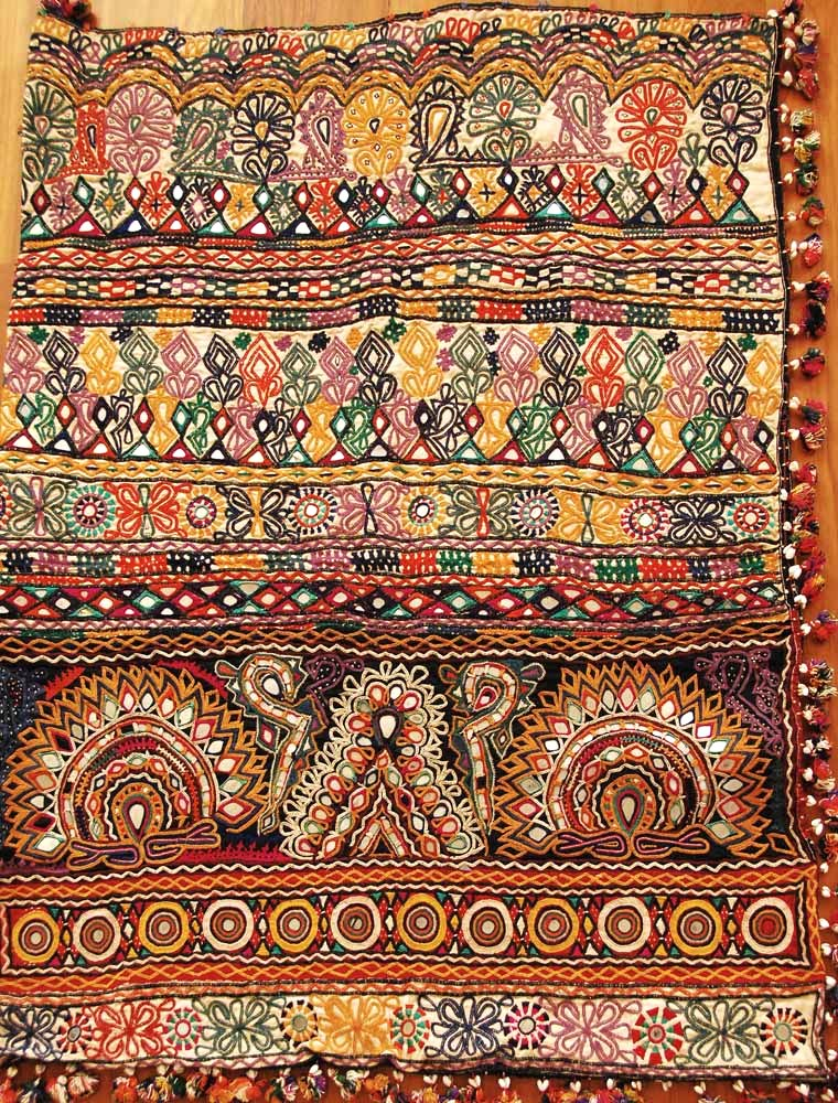 Antique Kutch Embroidery