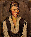 Anton Faistauer Portrait of a girl 1919.jpg