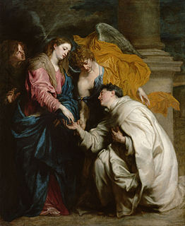 <i>The Vision of the Blessed Hermann Joseph</i> painting by Anthony van Dyck