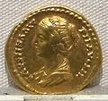 Antonino pio, aureo per faustina minore, 147-161 ca., 04.JPG