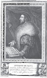 Antonio de Leyva, Duke of Terranova Spanish general