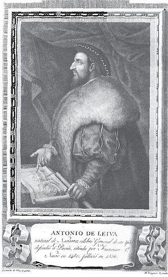 Antonio de Leyva, Duke of Terranova - Antonio de Leyva.
