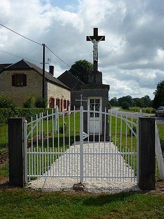 Any-Martin-Rieux - Image: Any Martin Rieux (Aisne) Chapelle surmontée d'une croix