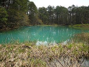 Goshiki-numa - Image: Ao numa Pond