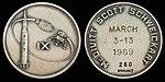 Apollo 9 Flown Silver Robbins Medallion (SN-260).jpg