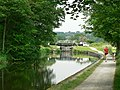 Approaching Kirkstall Lock, Leeds and Liverpool Canal - geograph.org.uk - 183813.jpg