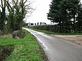 Approaching Thorpe Abbotts on Mill Road - geograph.org.uk - 1780415.jpg