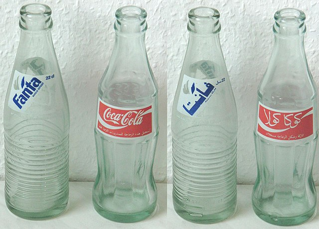 recycle clear bottles, changing the world