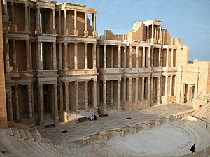 Libya - Archaeological Site of Sabratha, Libya