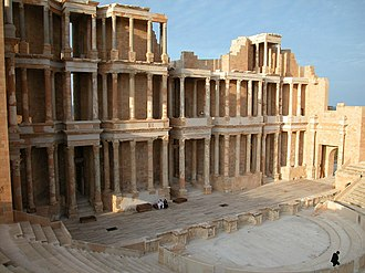 Ancient Libya - Archaeological Site of Sabratha, Libya