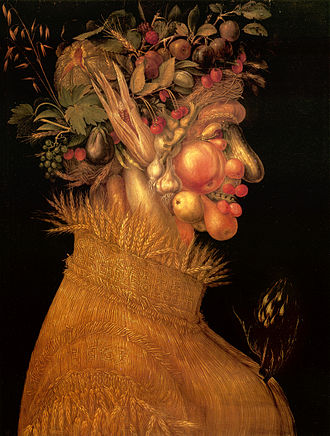 Kunsthistorisches Museum - Summer, by Giuseppe Arcimboldo, 1563