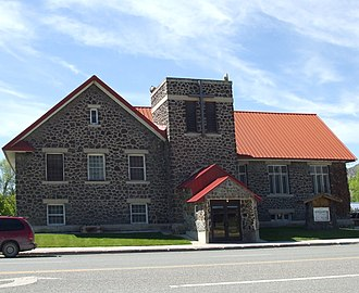 National Register of Historic Places listings in Butte County, Idaho - Image: Arco Idaho Baptist Church