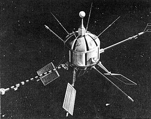 Artist's vision of Ariel 1 science satellite