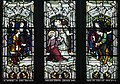 Armagh Roman Catholic Cathedral of St. Patrick West Aisle Window 04 Lower Lights St. Joseph's Flowering Rod 2013 09 24.jpg