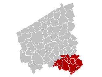 West Flanders - Image: Arr Kortrijk Location