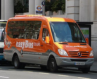 EasyBus - An Optare Soroco on Buckingham Palace Road