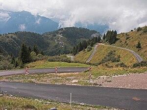 Monte Zoncolan - Monte Zoncolan near the summit.