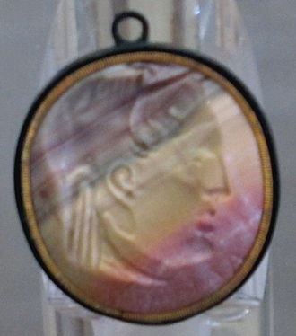 Alexander II of Epirus - Alexander II of Epirus on a cameo of agate