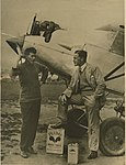 Arthur Butler and his monoplane ABA-1, 1931 - 1934.jpg