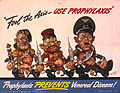 Arthur Szyk (1894-1951). Fool the Axis Use Prophylaxis poster (1942), Philadelphia.jpg