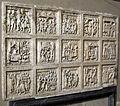 Artisti campani, lastre con storie di giuseppe ebreo, di sansone, s. gennaro e santi cavalieri, 1210 ca. 01.JPG
