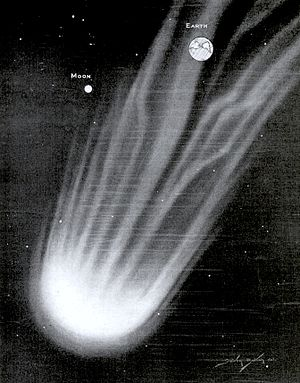 7P/Pons–Winnecke - Contemporary 1921 illustration of Pons–Winnecke comet.