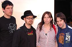 Mark, Rick, Charlotte, Tim - 2005.