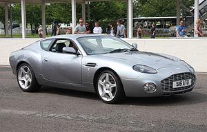 Aston Martin DB7 Zagato - Image: Aston Martin DB7 Zagato Flickr exfordy