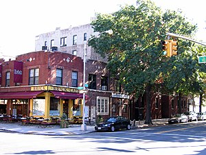 Astoria, Queens - 31st Avenue at 33rd Street in Astoria