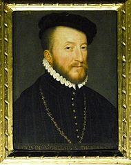 Louis de Saint-Gelais (1512/1513 - 1589) Gouverneur de François II et de Charles IX et surintendant de la Maison de Catherine de Médicis