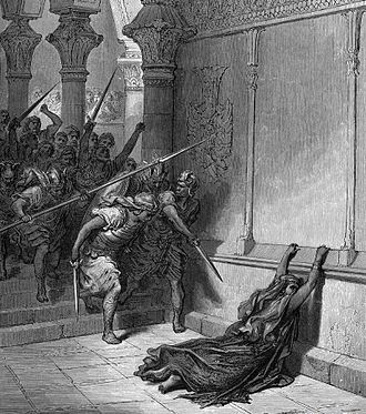 Athaliah - Gustave Doré, The Death of Athaliah.