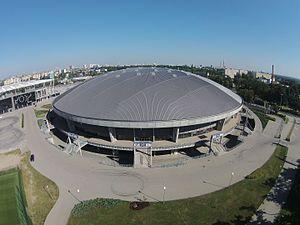2017 FIVB Volleyball Men's Club World Championship - Image: Atlas Arena Łódź