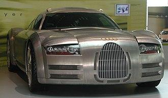 Audi Rosemeyer - Image: Audi Rosemeyer 1