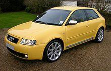 Audi A3 S Line 2003 >> Audi A3 Wikipedia