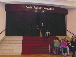 Mar del Plata International Film Festival - Astor Piazzolla hall, the Festival main venue