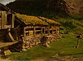August Schneider - Farmhouse in Setesdal - NG.M.04172 - National Museum of Art, Architecture and Design.jpg