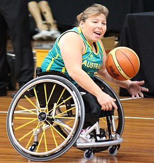 2 point player - Australia's Kylie Gauci is a 2 point player.
