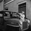 Auto van de pers in Willemstad, Bestanddeelnr 252-3743.jpg