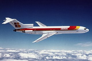 Boeing 727 Narrow body jet airliner