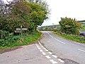 B4368 road to Newcastle near Weals Farm - geograph.org.uk - 1017248.jpg