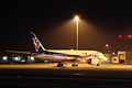 B787 ANA JA804J grounded at Takamatsu Airpoat.JPG